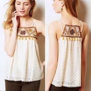 NEW without tags! Anthropologie lace tank top